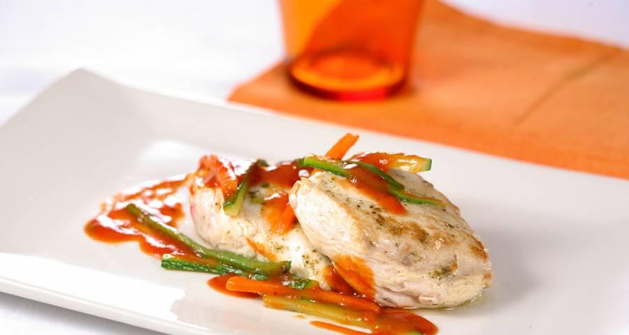 pechugas pollo con verduras-Maskompra